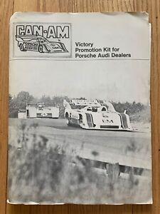 1973 Can-Am Victory Promotion Kit For Porsche Audi Dealers RARE