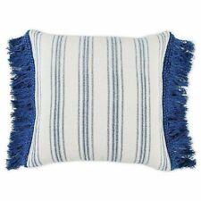 "Bee & Willow Lauren Liess Stripe 20"" Square Throw Pillow Vintage Farmhouse Beige"