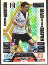 MATCH ATTAX 13/14 Sascha Rieter FULHAM Man Of The Match Card No.379