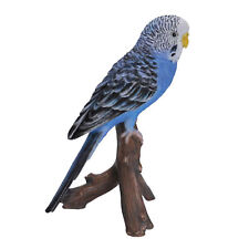 Vivid Arts Pet Pals Blue Budgerigar Budgie Bird Ornament Collectable Scaled
