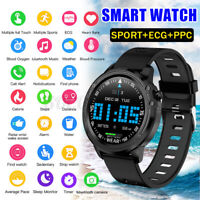 L8 Smart Watch IP68 ECG Fitness Tracker  Heart Rate Blood Pressure IOS Android