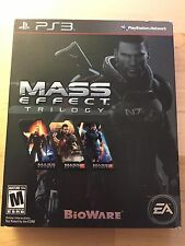 Mass Effect Trilogy PS3 COMPLETE W/SLIP CASE