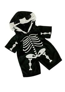 """TEDDY BEAR Skeleton Costume Outfit CLOTHES Fit 14""""-18"""" Build-a-bear !!! NEW !!!"""