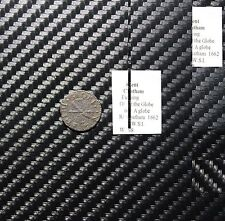 "1662 ""At the Globe"" Chatham Kent Farthing Token - 17th Century Great Britain"