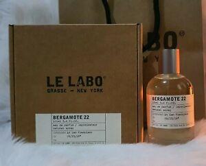 Bergamote 22 Le Labo Eau de Parfum for women and men 100ML US Tester