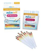 pH Wert Teststreifen, aquaself Qualität, schnell pH Wert messen, pH Tester, 0-14