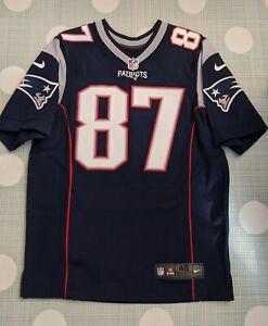 Rob Gronkowski New England Patriots Nike Elite NFL jersey Size 40 M