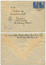 35987 - SBZ Mi.Nr. 216 - Beleg - Haldensleben 4.4.1950 nach Herborn