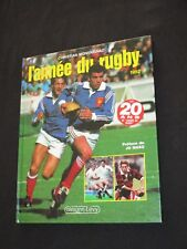 Livre book  L ANNEE DU RUGBY 1992  N° 20  Calmann-levy  RCT TOULON  BIARRITZ