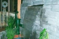 DIY WATER FEATURE - STAINLESS 600mm PROJECTING 316 SPILLWAY option to add LEDs