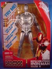 MARVEL ELECTRONIC SILVER REPULSOR POWER IRON MAN MARK II FIGURE SEALED RARE!!