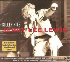 KILLER HITS JERRY LEE LEWIS 2 CD BOX SET