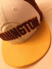 NFL Washington 9 Fifty Gorra Gorro Gorra Redskins NEW ERA UTILIZADO
