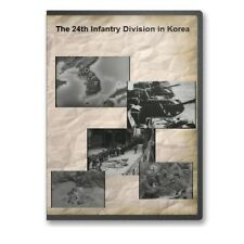 The 24th Infantry Division in Korea Korean War Documentary DVD - A755