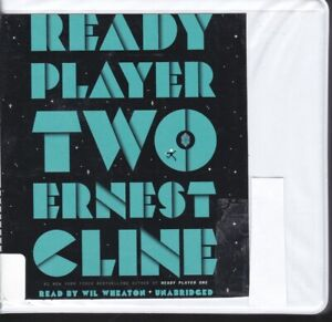 READY PLAYER TWO by ERNEST CLINE ~ UNABRIDGED CD's AUDIOBOOK