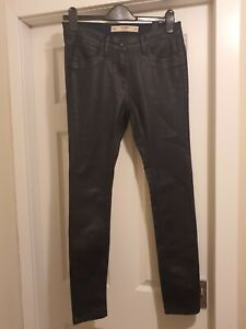 Next Leather Look Skinny Jeans Size 10 NEW
