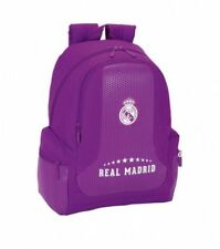 Real Madrid sac à dos L cartable violet 32 x 43 x 17 cm backpack 258895
