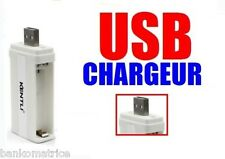CHARGEUR USB POUR  AA ou AAA 1.5V RECHARGEABLE Li-ion KENTLI CHARGER USB