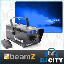 Coloured Smoke Machine Beamz S700LED-ICE with Blue LED Ice Effect and Free Fluid