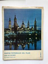 Programa Fiestas Patronales Del Pilar Rio PIedras Puerto Rico 1970 Fotos