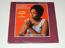 LEONOR GONZALEZ CANTOS DE MI TIERRA Y DE MI RAZA Lp RECORD MONO  US FPM-159 RARE