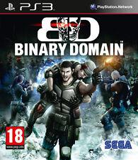 Binary Domain PS3 Playstation 3 IT IMPORT SEGA