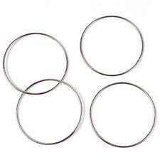 Linking Rings Tools Connected Magic Tricks Kit Magic Accessories 4 Rings JG