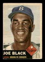1953 Topps Set Break # 81 Joe Black VG-EX *OBGcards*
