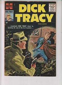 """Dick Tracy Monthly 105 FVF (7.0) 11/56 Harvey! """"The Fur Hi-jackers!"""""""