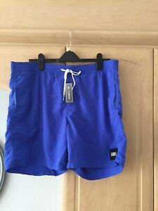 Mens O'Neill Perform Hyperdry Dazzling Blue Board shorts size XL .New