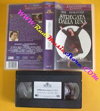 VHS film STREGATA DALLA LUNA Cher Nicolas Cage 2000 MGM 15861 SA (F24) no dvd