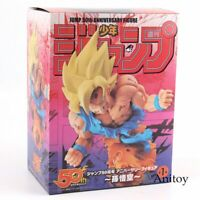 Dragon Ball Z Son Goku PVC Figures Collectible Model Toys JUMP 50th Anniversary