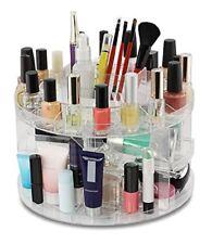 Cosmetic Organizer Carousel Clear Acrylic