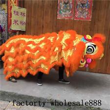 88'' Chinese Folk Art Lion Dance Mascot Costumes Wool Southern Lion (Just Cloak)