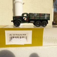 Roco Herpa Minitanks 743983 ZIL 157 camion à plateau NVA vert couleur camouflage