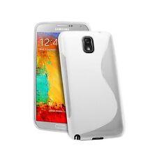 Funda flexi gel para Samsung Galaxy Note 3 N9000/n9002 S-line blanca