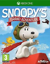 Peanuts Movie Snoopy's Grand Adventure Game for Xbox One 3+ Kids NEW SEALED