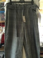 RIVER ISLAND WIDE LEG TROUSERS SIZE 18 BRAND NEW WITH TAGS