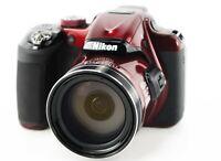 Nikon COOLPIX P600 16MP Wi-Fi CMOS Zoom 60x Optical, 120x Digital, 1080p HD