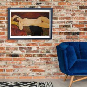 Amedeo Modigliani - Nude Lying on Sofa Wall Art Poster Print