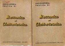 Meccanica ed elettrotecnica (1941) - AA.VV. - Casa Editrice Ciancimino 5966