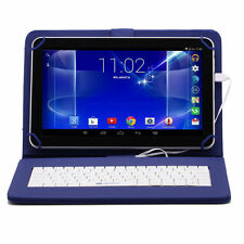"""iRULU 10.1"""" Touch Screen Tablet PC Google Android 6.0 1G/8G Black with Keyboard"""