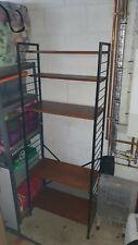 Ladderax teak shelving