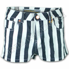 Cotton Striped Hot Pants for Women