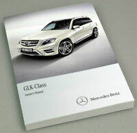 Mercedes-Benz GLK-Class Owners Manual / Drivers Handbook 2012