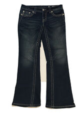 Miss Me Signature Womens Jeans Size 29 Signature-Rise Boot-Embellished
