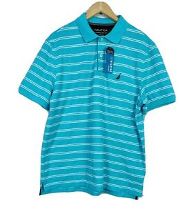 Nautica Men's Polo Shirt Size L Brand New Short Sleeve Classic Fit