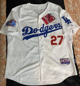 L.A. Dodgers Matt Kemp Autographed Majestic Athletic MLB Baseball Jersey Sz 50