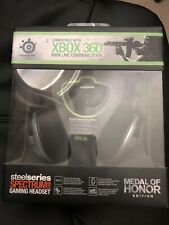 Microsoft Xbox 360 SteelSeries Spectrum 5XB MOH Headset, Brand New And Sealed!