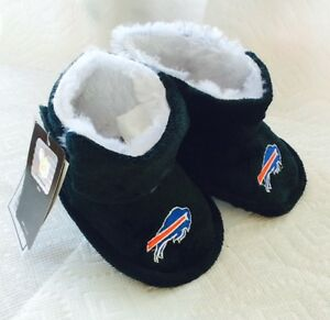 Buffalo Bills Toddler Boot Bootie Slippers NEW - Free U.S.A. Shipping